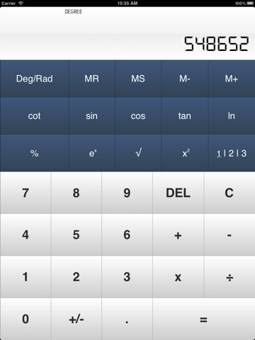 Calculator± screenshot 1