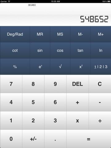 Calculator± screenshot 1