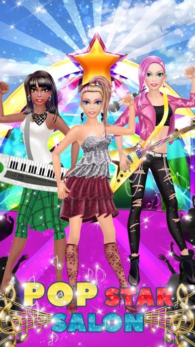 Pop Star Makeover: Girl Makeup and Dressup Game Screenshot