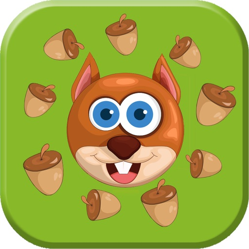 Hungry Squirrel : Finding Peanuts iOS App
