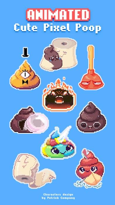 Милые Пиксельные Какашки (анимация)Скриншоты 1