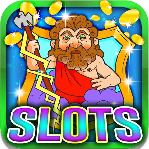 Ancient God Slots: Use your secret wagering strategies to earn Zeus's golden crown iOS App