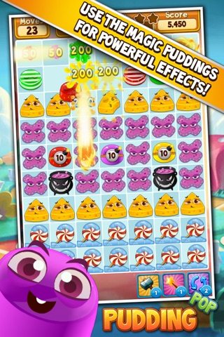 Pudding Pop Mobile screenshot 1