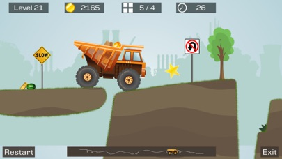 Big Truck -Mine Express Racing Скриншоты7