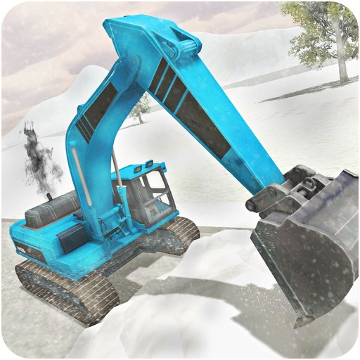 Heavy Snow Excavator Simulator - Plow Truck Rescue iOS App