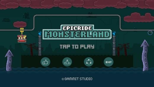 Epic Ride - Monsterland Screenshot