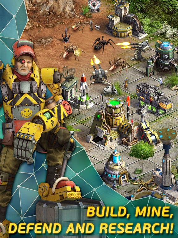 Screenshots of Evolution: Battle for Utopia for iPad