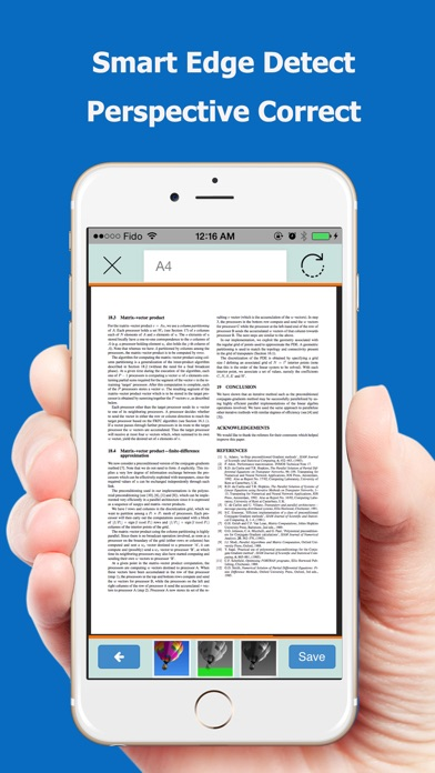 TopScanner : PDF Scanner App Screenshot