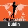 Dublin Offline Karte und Reiseführer