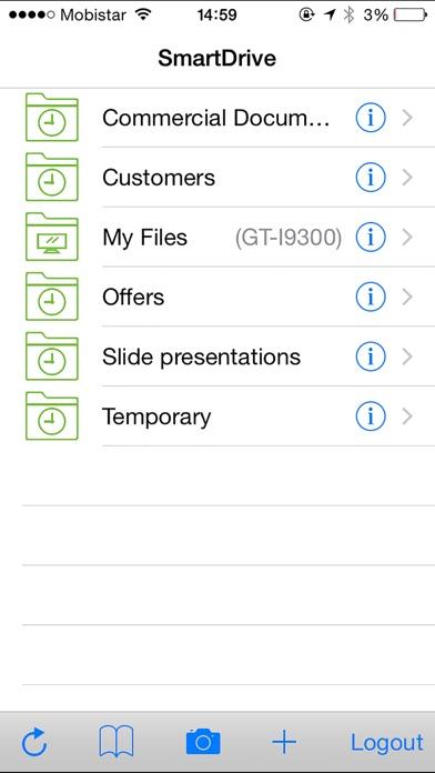 Capture d'écran de SmartDrive Mobile1