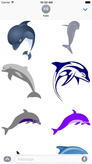 Dolphin Sticker Packのスクリーンショット1