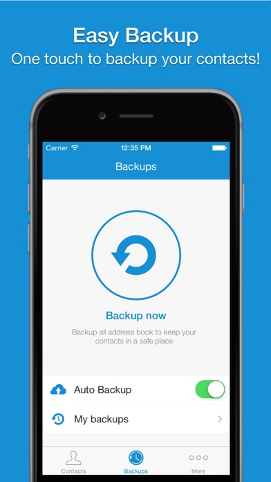 Screenshot #6 for Easy Backup - Contacts Backup Assistant