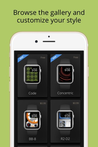 Facely — Free wallpapers for your Apple watch screenshot 3