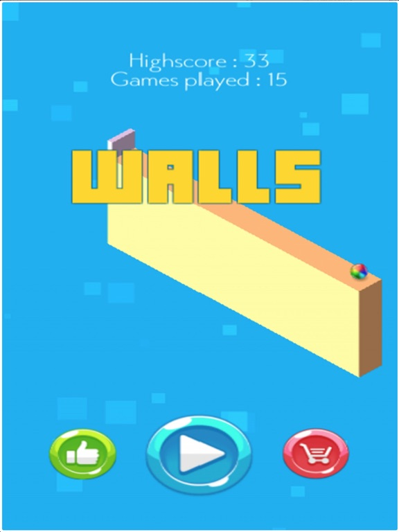 Ball and Walls на iPad
