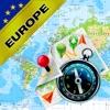 西欧 欧州連合(EU) - オフライン地図&GPSナビゲ