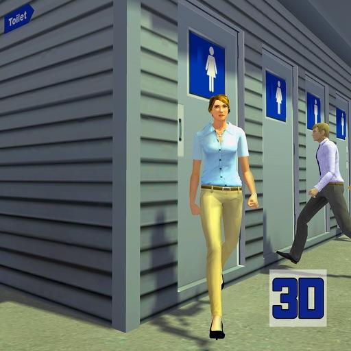 Toilet Rush Simulator Poop 3D
