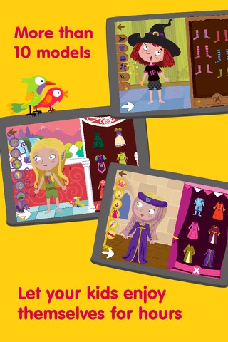 Dress Up Characters - Dressing Games for Toddlers screenshot 2