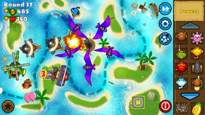 Bloons TD 5 iPhone