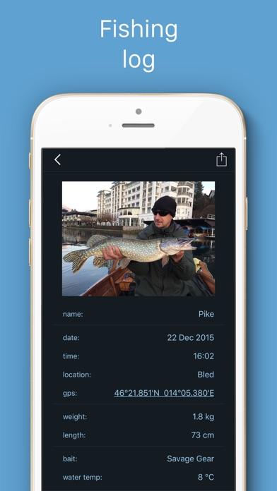 Fishing Calendar Screenshot 2