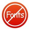 Sans Fonts web