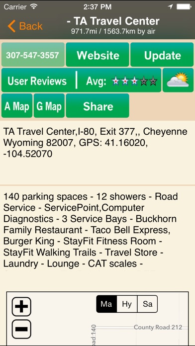 Truck Stops Travel Plazas On The App Store - Map of truck stops in us