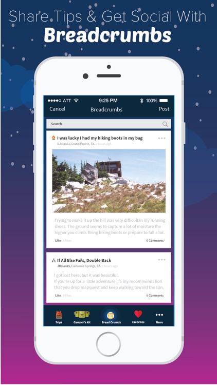 moonlight camping trip planner by active network llc