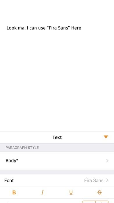 FondFont: Install System Fonts Screenshots