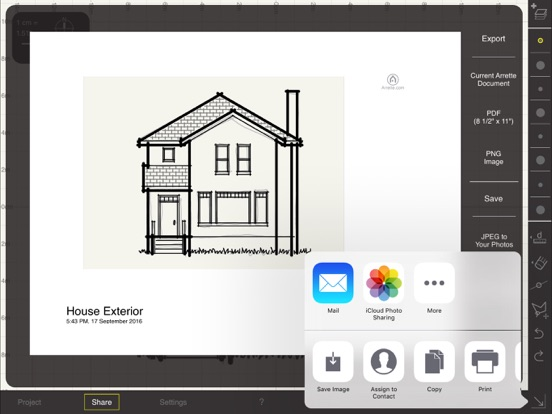 arrette scale – sketch and draft architecture on the app store