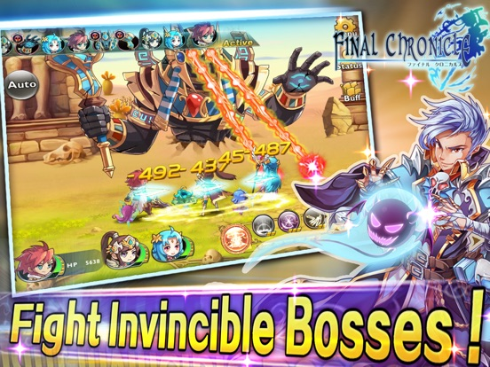 Final Chronicle (Fantasy RPG) для iPad