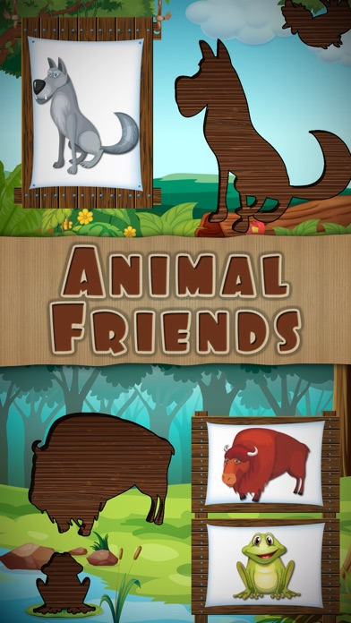 Screenshots of Animal Puzzles Games: Kids & Toddlers free puzzle for iPhone