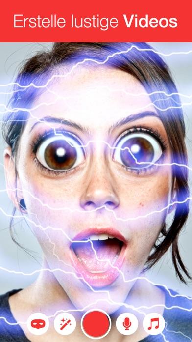 Große Augen App