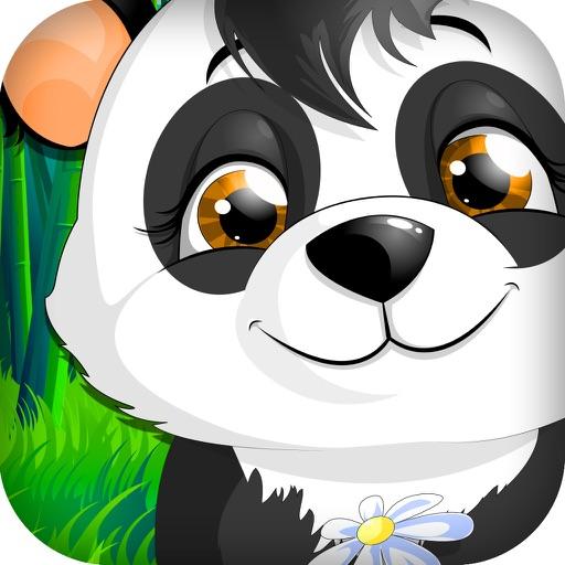 Walking Baby Panda in the Wild Jungle Slot Machine iOS App