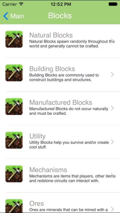 Block ID Toolbox for Minecraft PE Pocket Edition screenshot 2