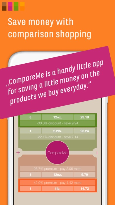 download CompareMe Shopping Calculator apps 1
