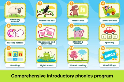 Phonics Fun Farm Games: Letter Sounds, Sight Words screenshot 2
