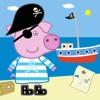 Mrs Pig : Dress Up & Stickers Free Happy Chicken