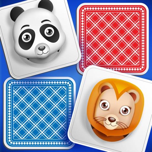Animal Matching Cards Memory Game for Kids Brain iOS App