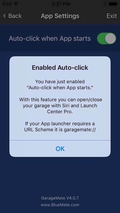 open garage door with iphoneGarageMate Garage Door Remote on the App Store