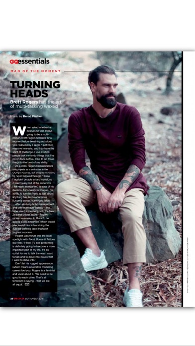 download GQ magazine South Africa apps 4