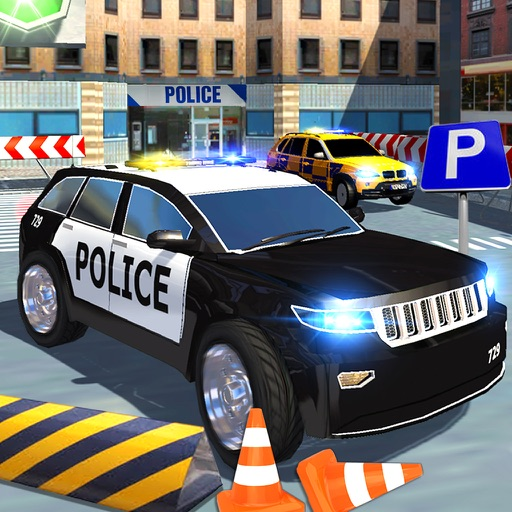 extreme 3d parking voiture de police par zohaib iftikhar. Black Bedroom Furniture Sets. Home Design Ideas