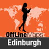 Edinburgh Offline Karte und Reiseführer