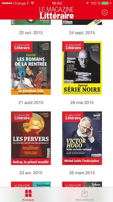 Le Magazine Littraire review screenshots
