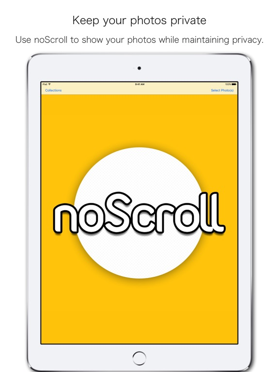 noScroll Screenshots