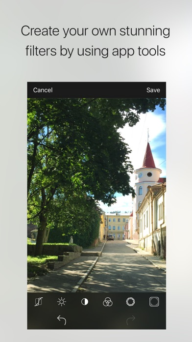 Charm - photo filters creator Screenshots