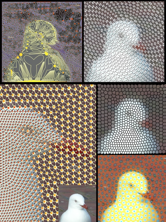 TriMeshImager - Triangular Mesh Art Generator Screenshots