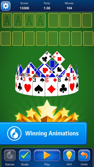 FreeCell Solitaire Card Game screenshot three