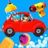 Autos und Laster Waschen Spiel für Kinder – Das lustige Auto Waschanlagen Kinderspiel