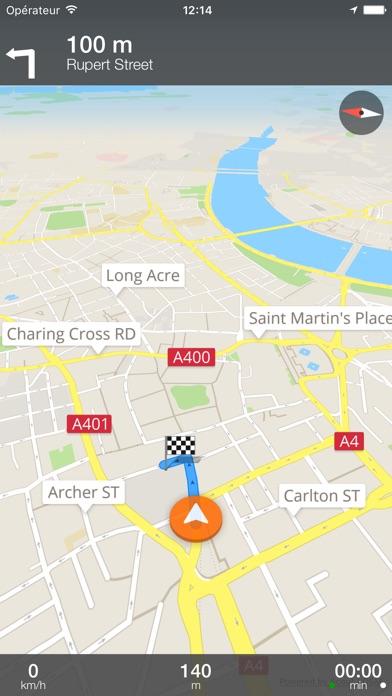 Prague Déconnecté carte et guide de voyageCapture d'écran de 5