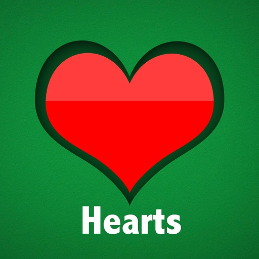 Hearts HD for cards, solitaire, games iOS App