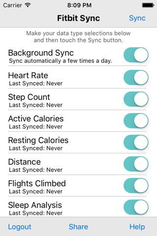 Health Sync for Fitbit by Jaiyo